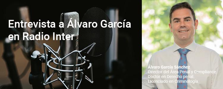 Entrevista a Álvaro García en Radio Inter